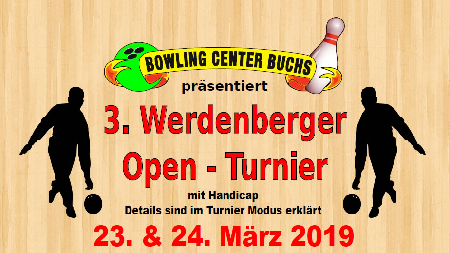 Werdenberger Open Turnier Bowling